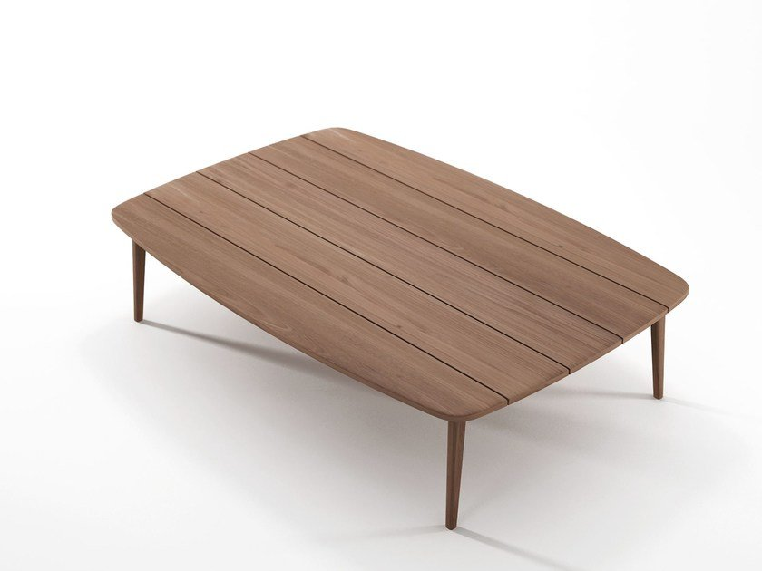 Teak coffee table for living room GRASSHOPPER | Coffee table for living room by KARPENTER