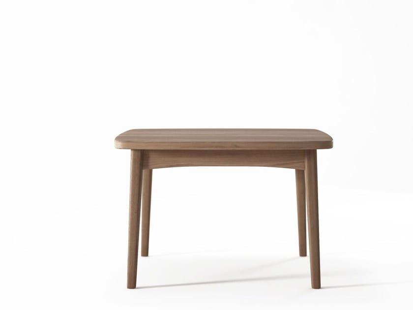 Teak coffee table GRASSHOPPER   Side table by KARPENTER