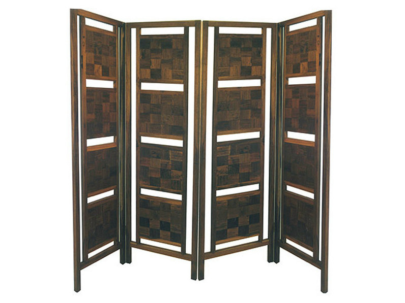 Wooden screen INLAID | Screen by WARISAN