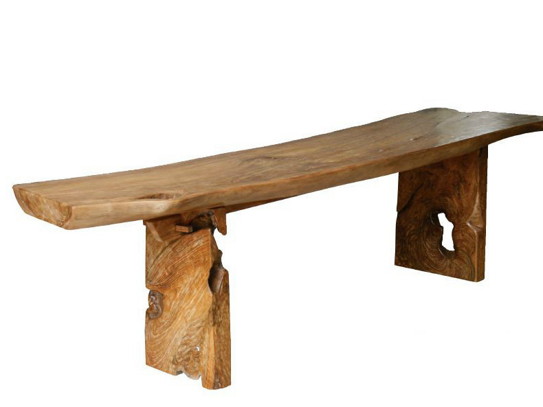 Rectangular wooden console table ORIGINS | Console table by WARISAN