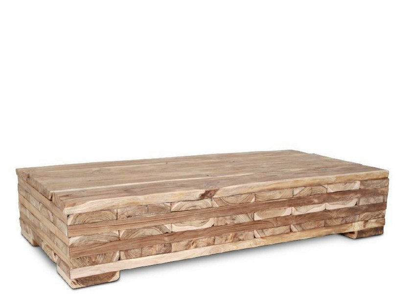 Wooden coffee table ORIGINS | Coffee table by WARISAN