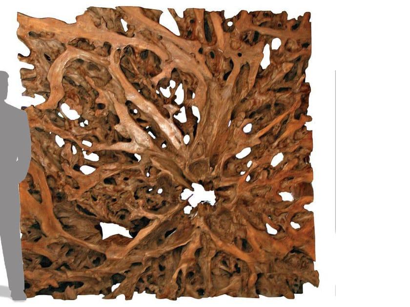 Wooden room divider / sculpture ORIGINS   Room divider by WARISAN