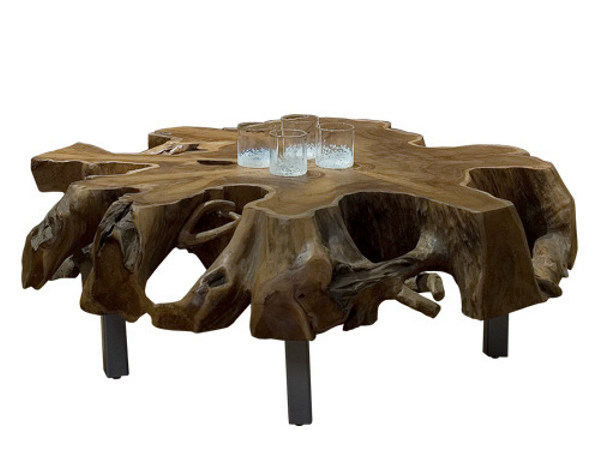 Wooden coffee table for living room ORIGINS | Coffee table by WARISAN