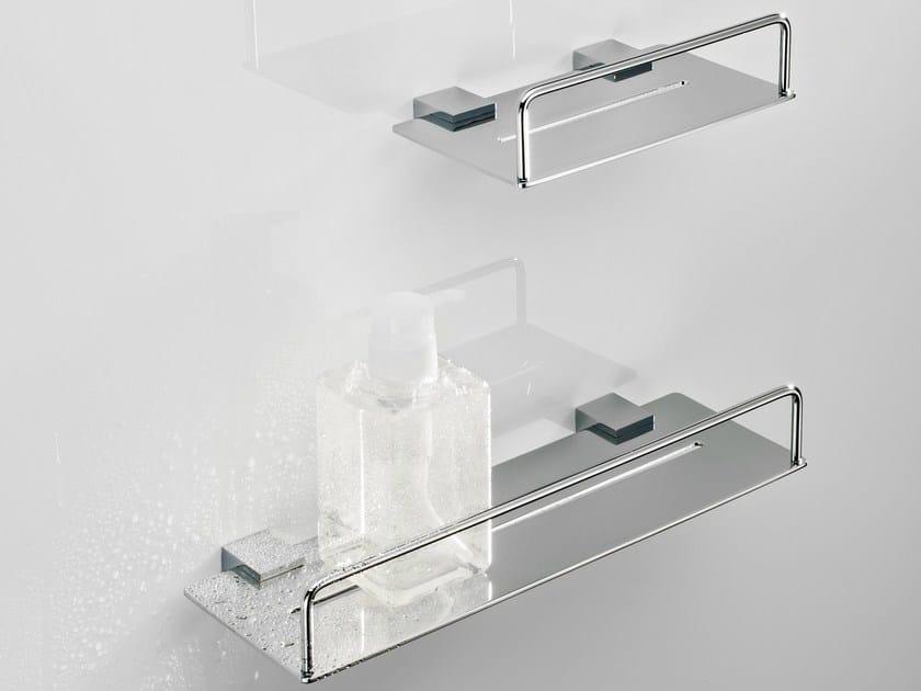 Portasapone a muro in metallo per doccia da 20 35 by decor - Portasapone doccia senza forare ...