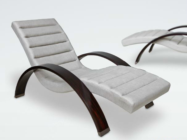 Upholstered lounge chair ARCH by WARISAN
