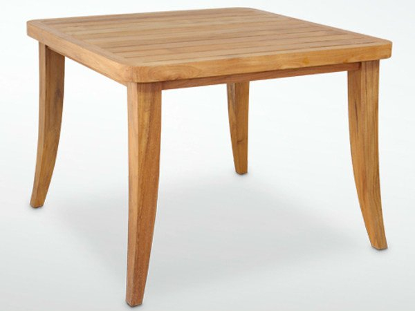 Square teak garden table SOPHIE | Table by WARISAN