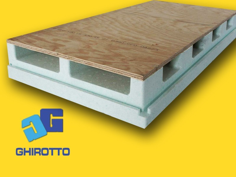 Ventilated roof system AIRVENT DS by GHIROTTO