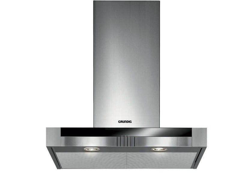 Wall-mounted stainless steel cooker hood GDK 2774 BXB | Cooker hood by Grundig