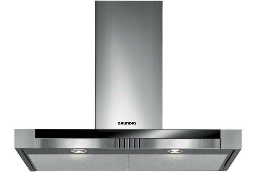 Wall-mounted stainless steel cooker hood GDK 5774 BXB | Cooker hood by Grundig
