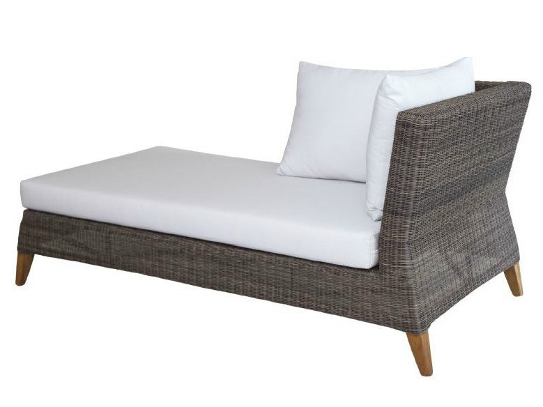 Rattan day bed / garden daybed SHELLY | Day bed by WARISAN