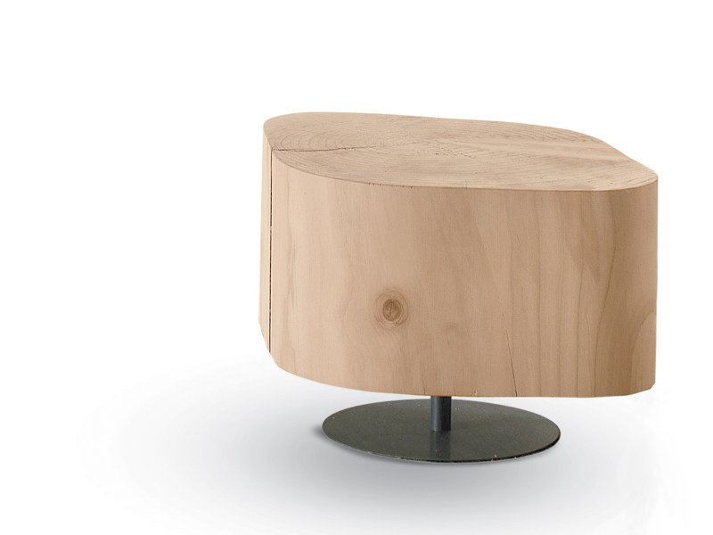 Low wooden coffee table TOBI 1 by Riva 1920