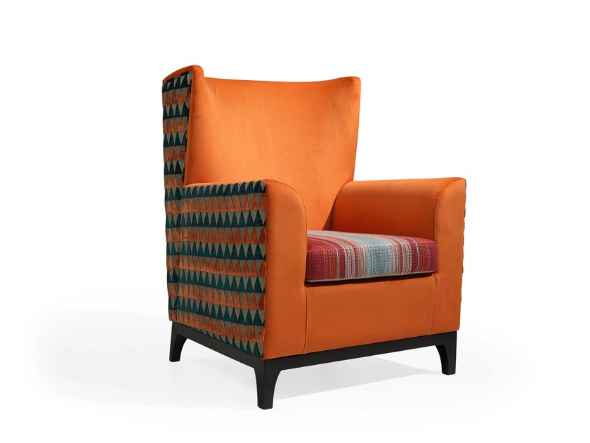 Armchair with armrests NATE by Fenabel