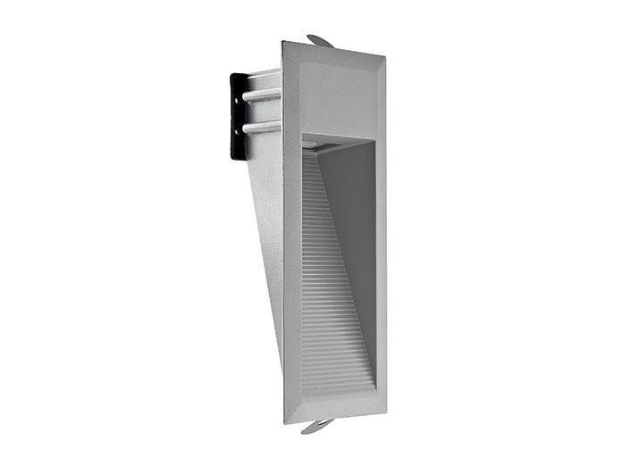 LED wall-mounted aluminium steplight Walk 1.0 by L&L Luce&Light