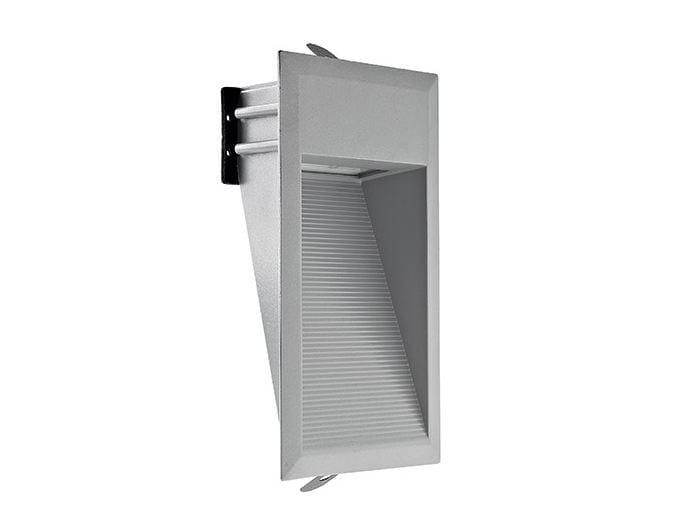LED wall-mounted aluminium steplight Walk 2.0 by L&L Luce&Light