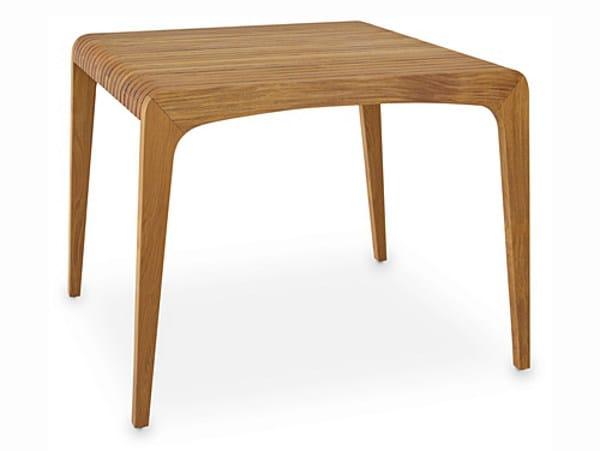 Rectangular wooden garden table RUSUK | Table by WARISAN
