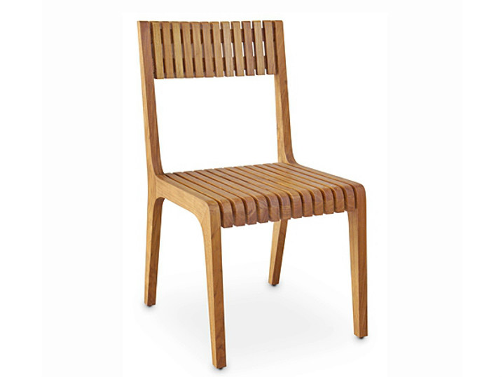 Wooden garden chair RUSUK | Chair by WARISAN