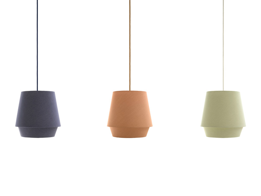 Fabric pendant lamp ELEMENTS | Pendant lamp by ZERO