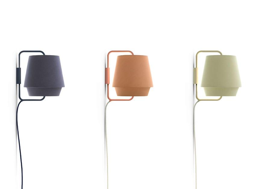 Fabric wall light ELEMENTS | Wall light by ZERO