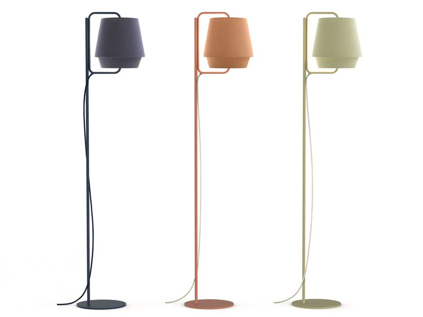 Fabric floor lamp ELEMENTS | Floor lamp by ZERO
