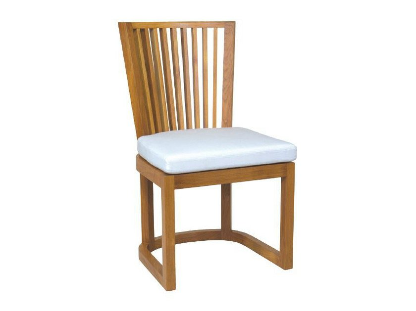 Wooden garden chair KOROGATED | Chair by WARISAN