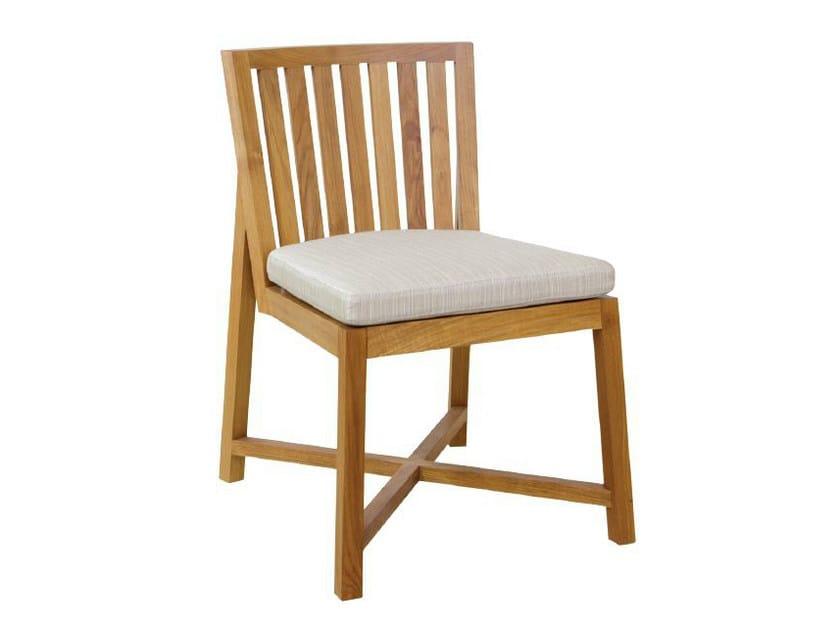 Wooden garden chair JALAN | Chair by WARISAN