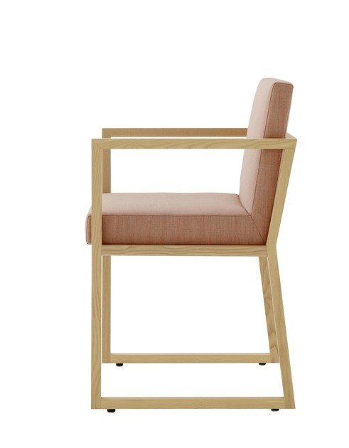 Sled base chair ISO | Chair by Ligne Roset