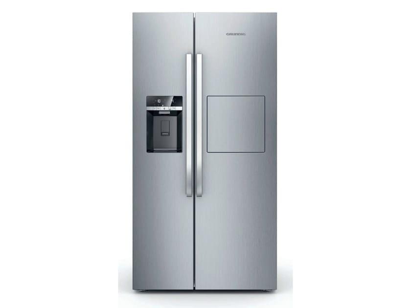 Freestanding no frost refrigerator GSBS 14620 X | Refrigerator by Grundig