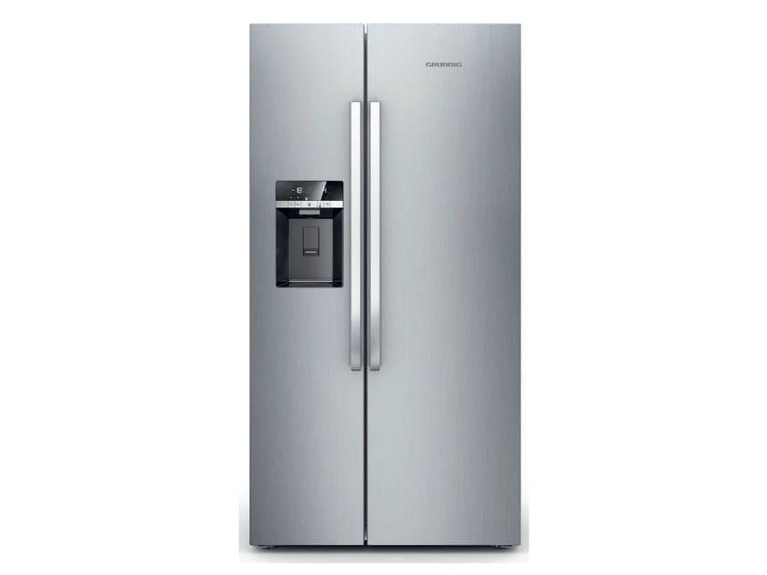 Freestanding no frost refrigerator GSBS 16820 X | Refrigerator by Grundig