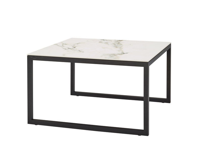 Low square coffee table ISO | Low coffee table by Ligne Roset