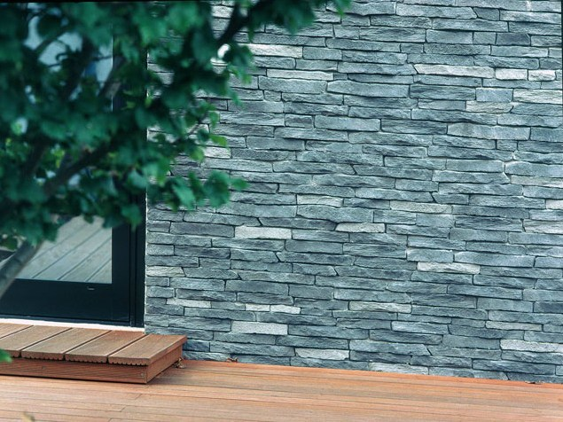 Wall tiles with stone effect SESTRIERE by Tegolaia