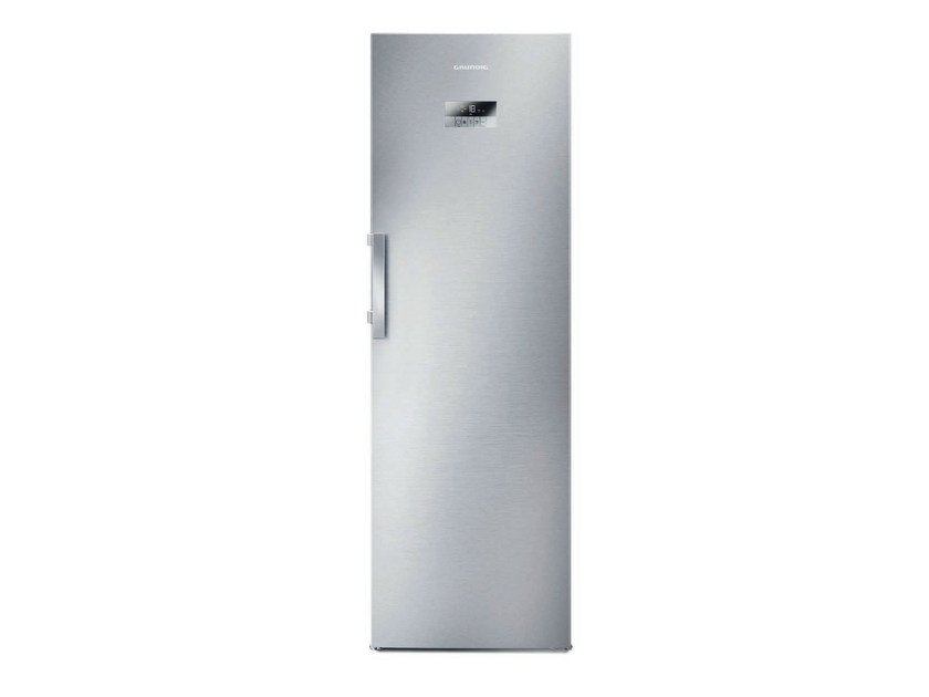 No frost vertical freezer Class A + + GFN 13820 X | Freezer by Grundig