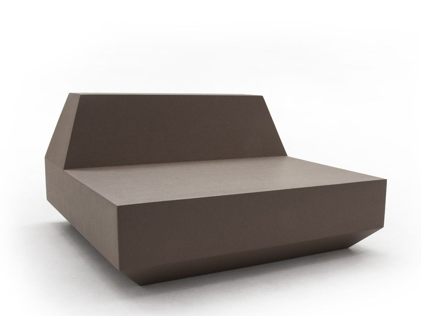 Sectional modular sofa ANTON LINEAR by Quinze & Milan