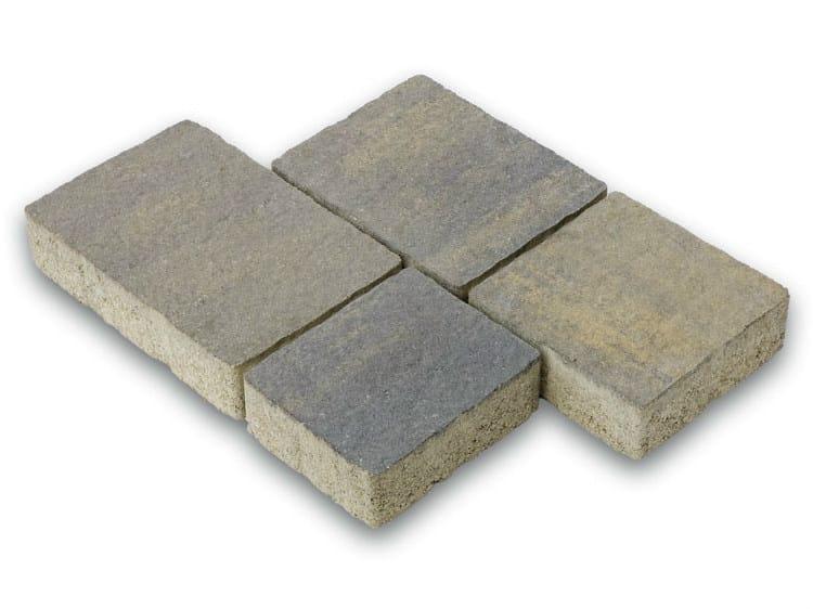 Photocatalytic concrete paving block BETONELLA® CM 6 by Tegolaia