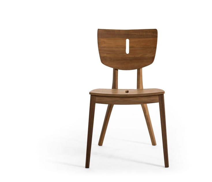 Teak garden chair DIUNA   Teak chair by OASIQ