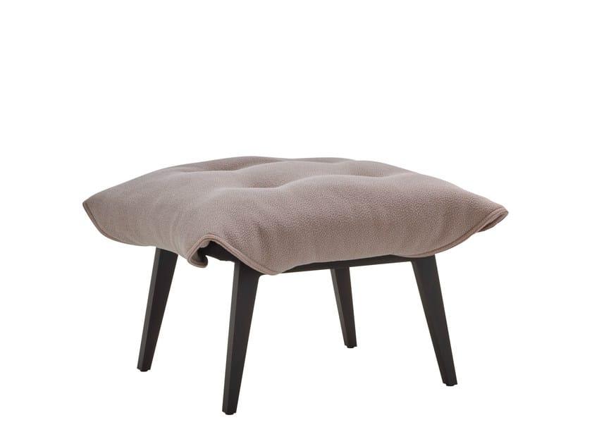 Fabric footstool TOA | Footstool by Ligne Roset