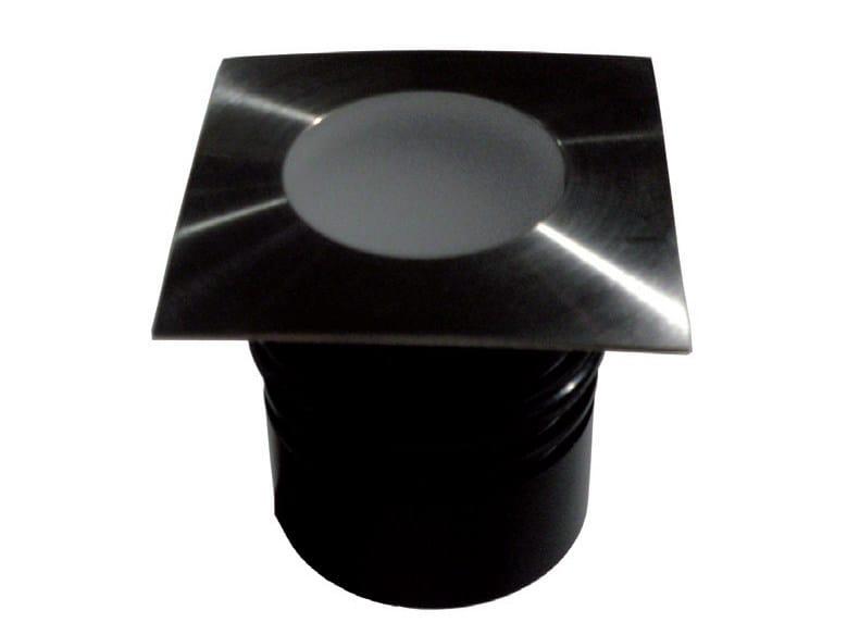 LED walkover light stainless steel steplight BURY 2 by TEKNI-LED