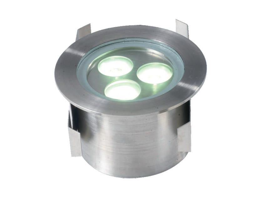 LED walkover light stainless steel steplight AQUA 3 by TEKNI-LED