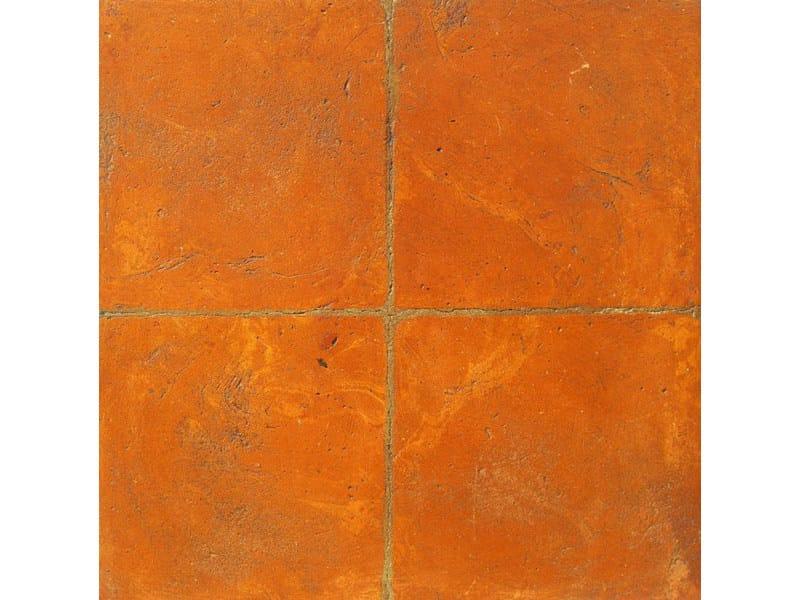 Tavella quadra rossa venato gialla