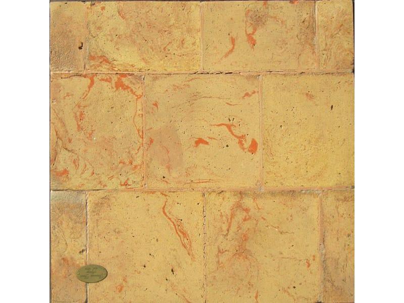 Tavella quadragialla venato rossa