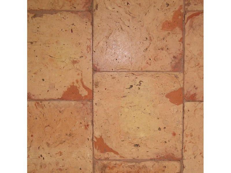 Tavella quadra rossa bicolore