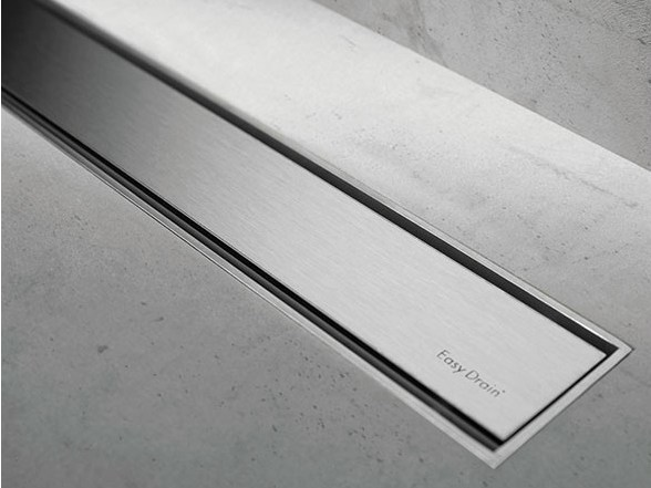 Shower channel TAF M1/M2 BRUSHED STAINLESS by ESS Easy Drain