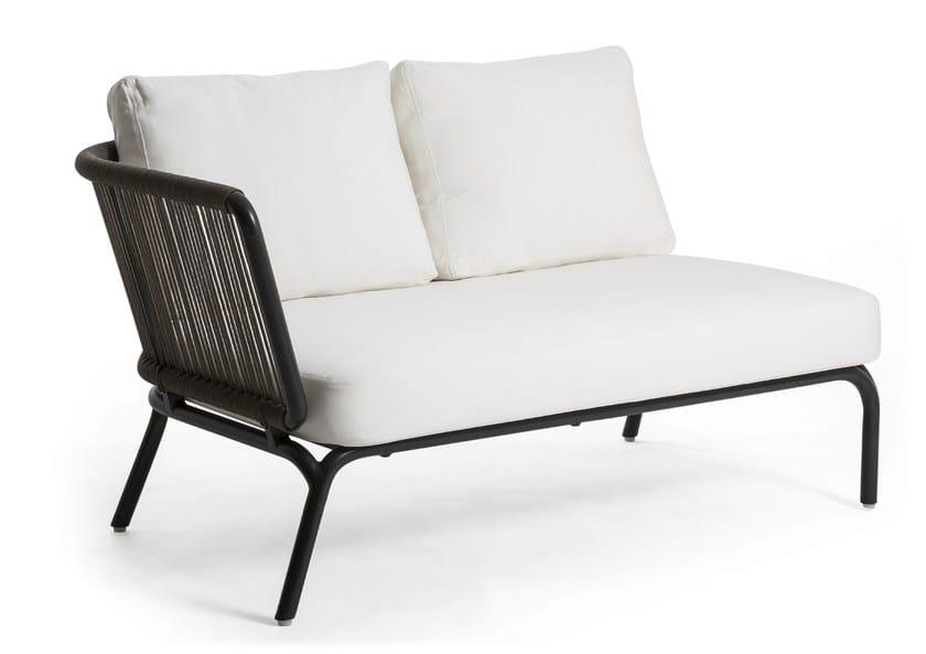 Contemporary style fabric small sofa YLAND | Small sofa by OASIQ