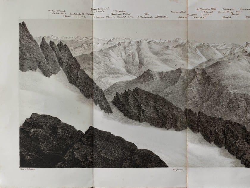 Landscape wallpaper IN VETTA by Wall&decò
