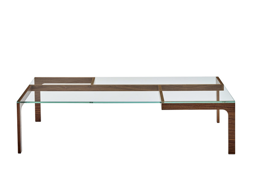 Low rectangular coffee table GARRY | Low coffee table by Ligne Roset