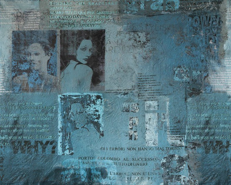 Writing wallpaper PAPARAZZI by Wall&decò