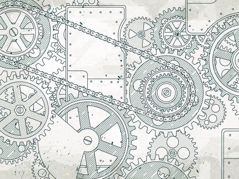 Wallpaper STEAMPUNK by Wall&decò