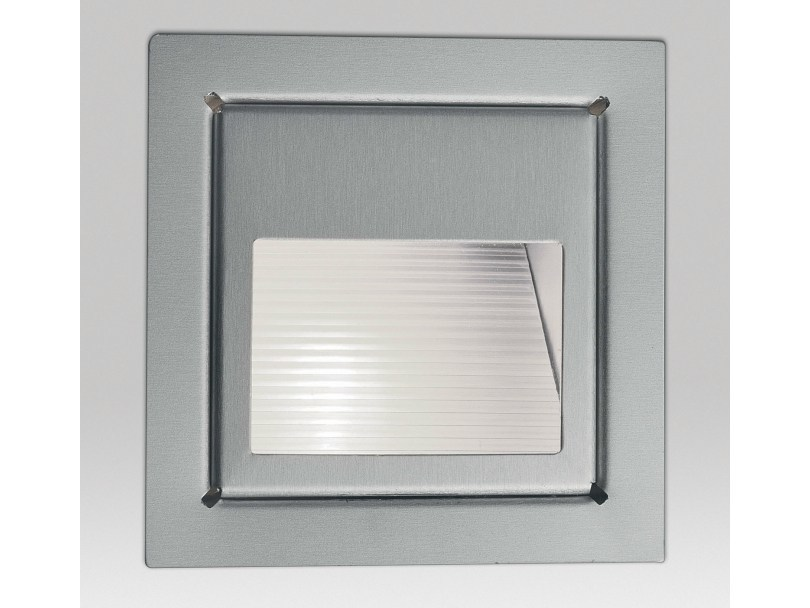 LED wall-mounted steplight HELI 1 SCREEN by Delta Light