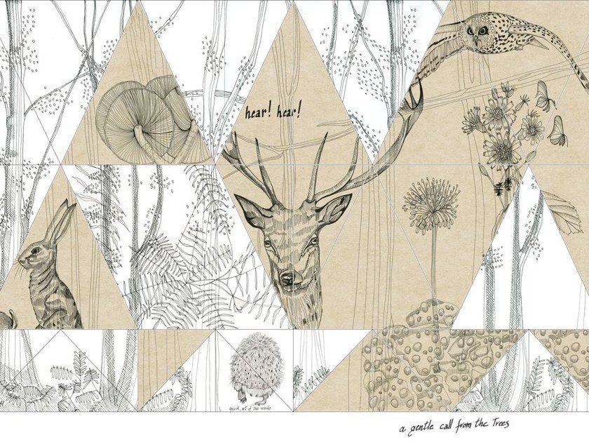 Wallpaper WOODLAND by Wall&decò