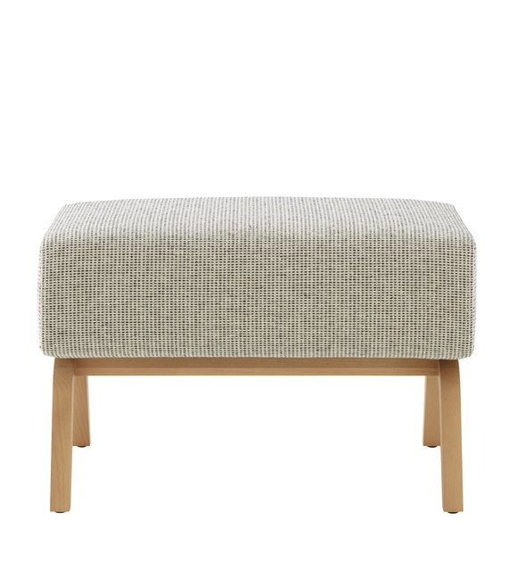 Fabric footstool ARCHI | Footstool by Ligne Roset