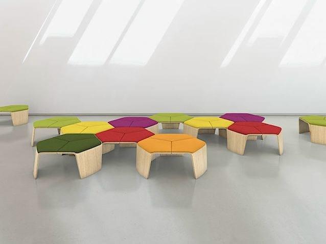 ElementSgabello Brunner Lounge Hoc Seating Basso 2D9WEHI